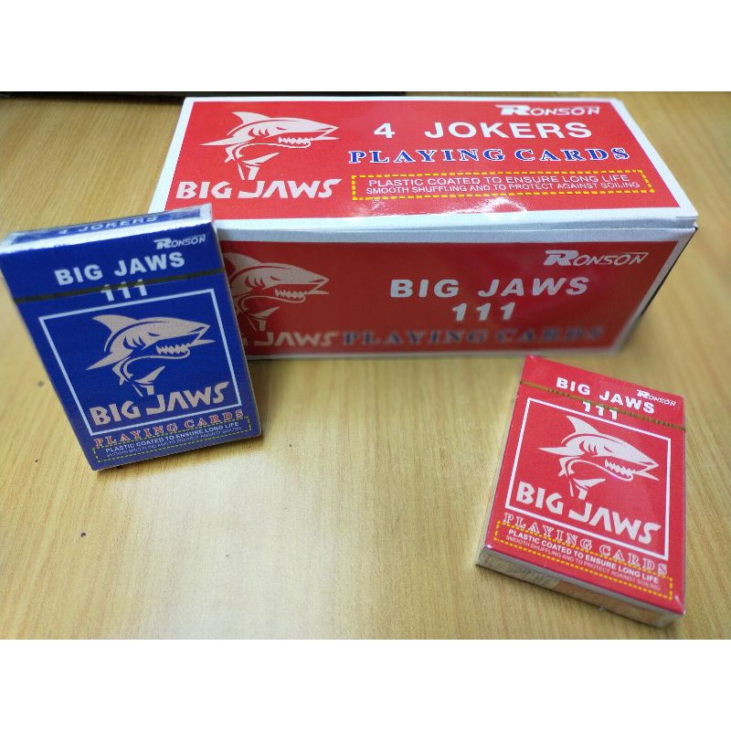 Ronson 111 Big Jaws Playing Card