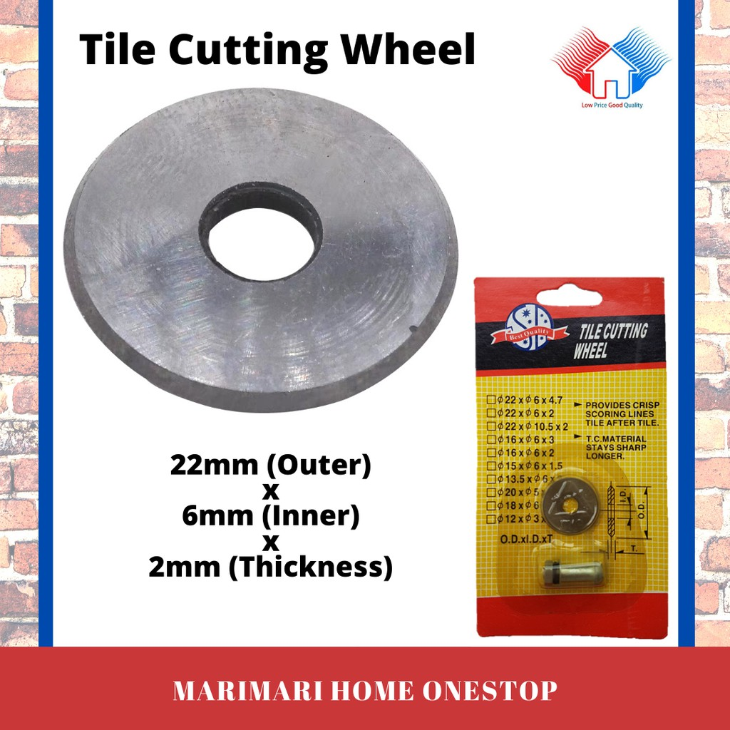 22mm 7 8 replacement rotary cutting wheel tile cutter blade