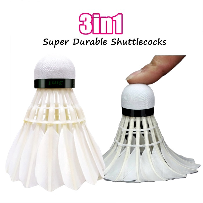????New Item????Bola Badminton Bulu Tangkis Badminton Feather Shuttlecock
