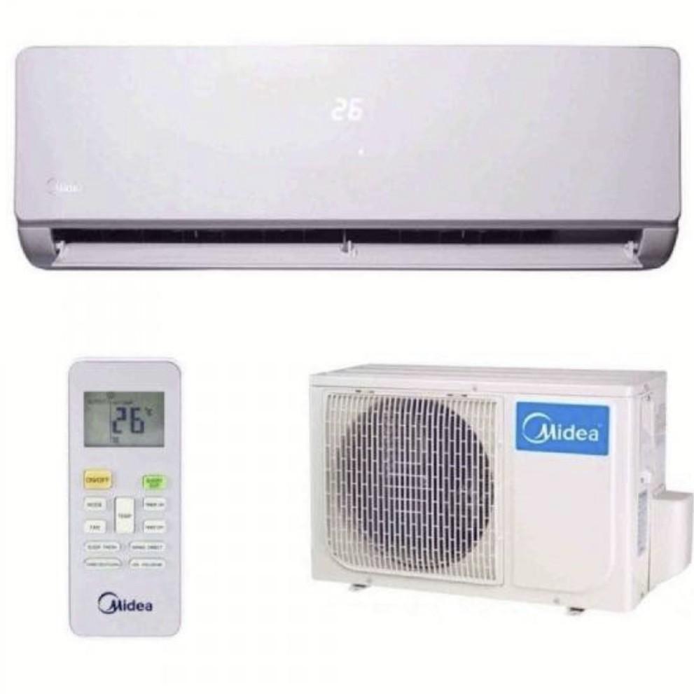Midea 1.5HP wall type air cond R410A gas Non-inverter 12000 Btu/hour