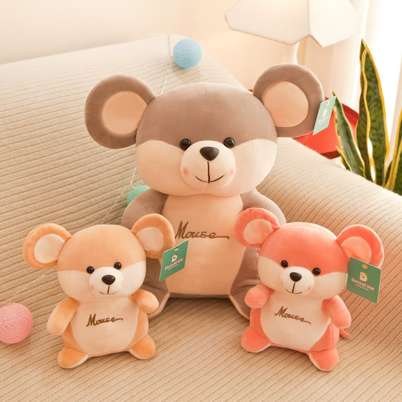 Cute plush toy hamster mouse doll sleeping pillow bed doll doll birthday  gift gi