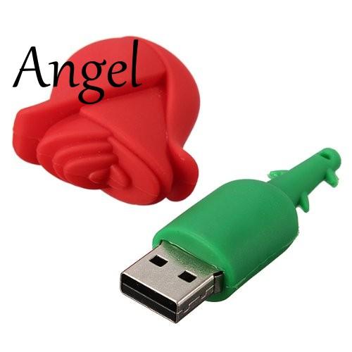 2GB USB drive shape pink comic USB 2.0 Memory Stick Flash Drive cute CV
