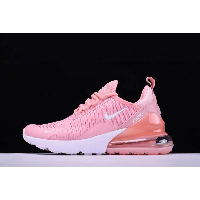 7222f660fdfb Nike Air Maxs 270 Womens Pink White Rose Blanc