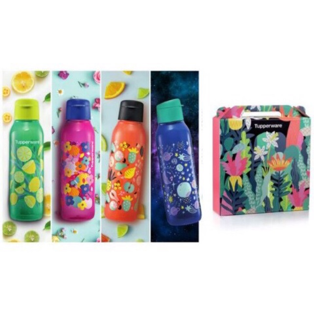 Tupperware Artz Series Eco Bottle Gift Set