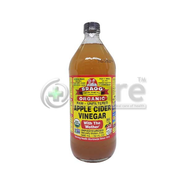 Bragg Organic Apple Cider Vinegar 946ml Only Available For West Malaysia Maximum 2 Bottles Per Order Shopee Malaysia