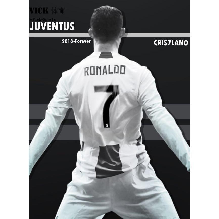 sports shoes 21399 354f4 2019 Top Quality Ronaldo No.7 Juventus Football Long sleeve ...