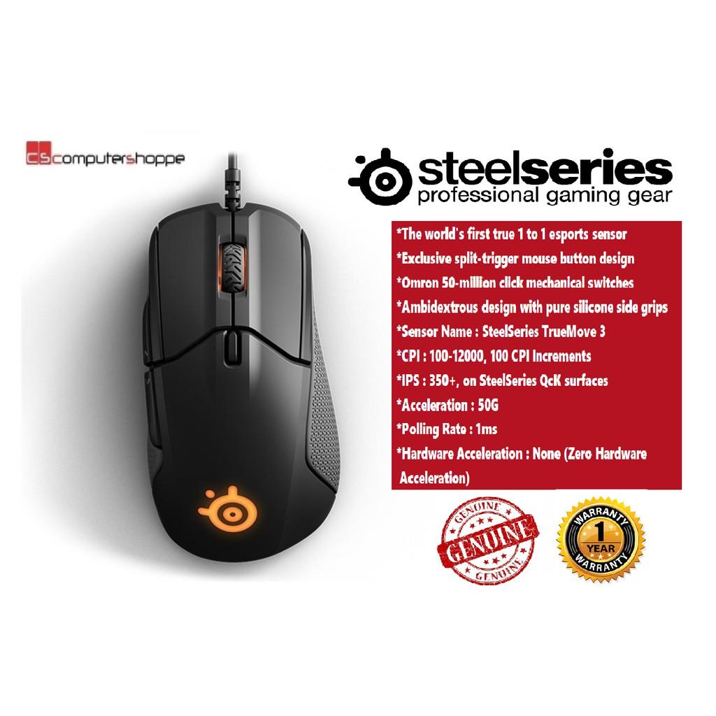 Steelseries Apex M650 Rgb Mechanical Gaming Keyboard Blue Switch Black Shopee Malaysia