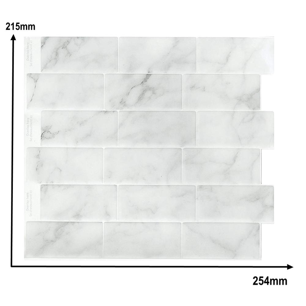 - Clevermosaics Marble Stone Self Adhesive 3D Waterproof Wallpaper