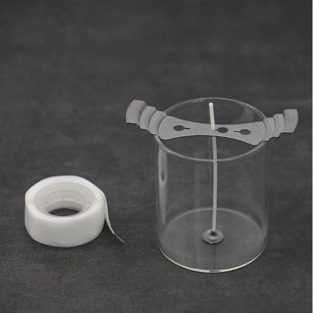 Candle Wicks Glue Dot 1 roll +-100pcs dots