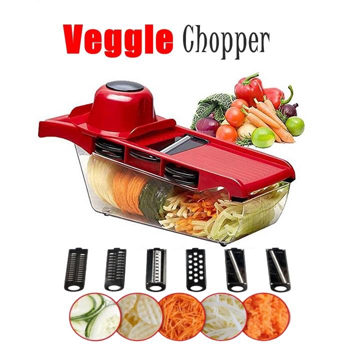 Vegetable Cutter Grater with Steel Blade Slicer