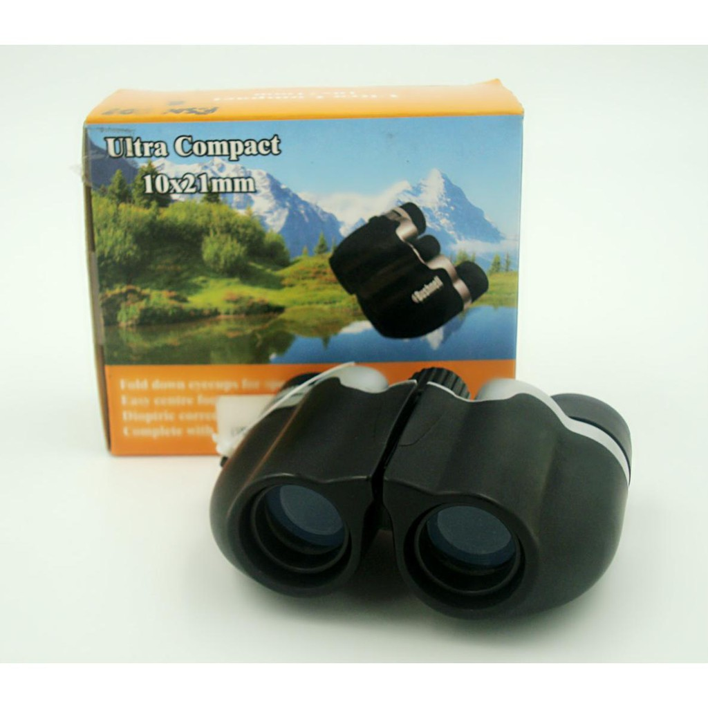 Binocular 10x21mm Ultra Compact Binocular Field of view 96/1000m Fully Coated Lens