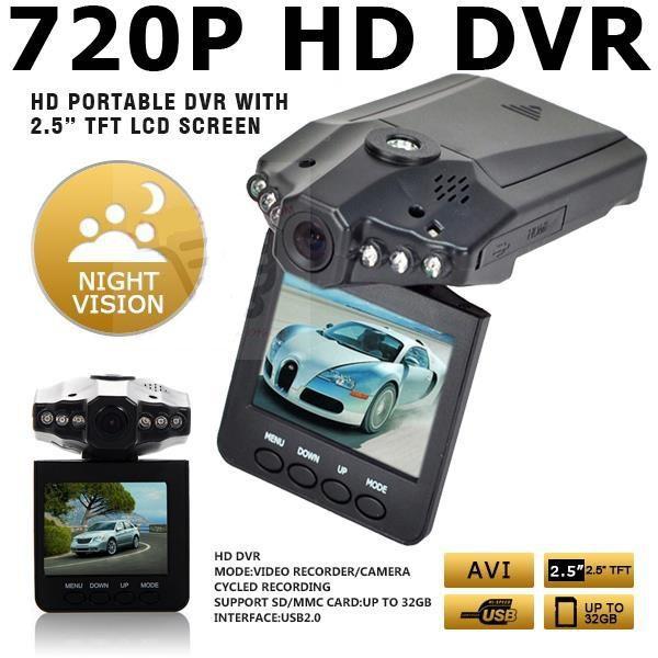 "HD DVR HD Portable DVR with 2.5"" TFT LCD Screen"