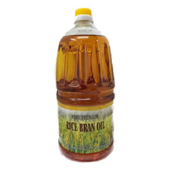 Pure Premium Ricebran Oil 米糠油 2L | Shopee Malaysia