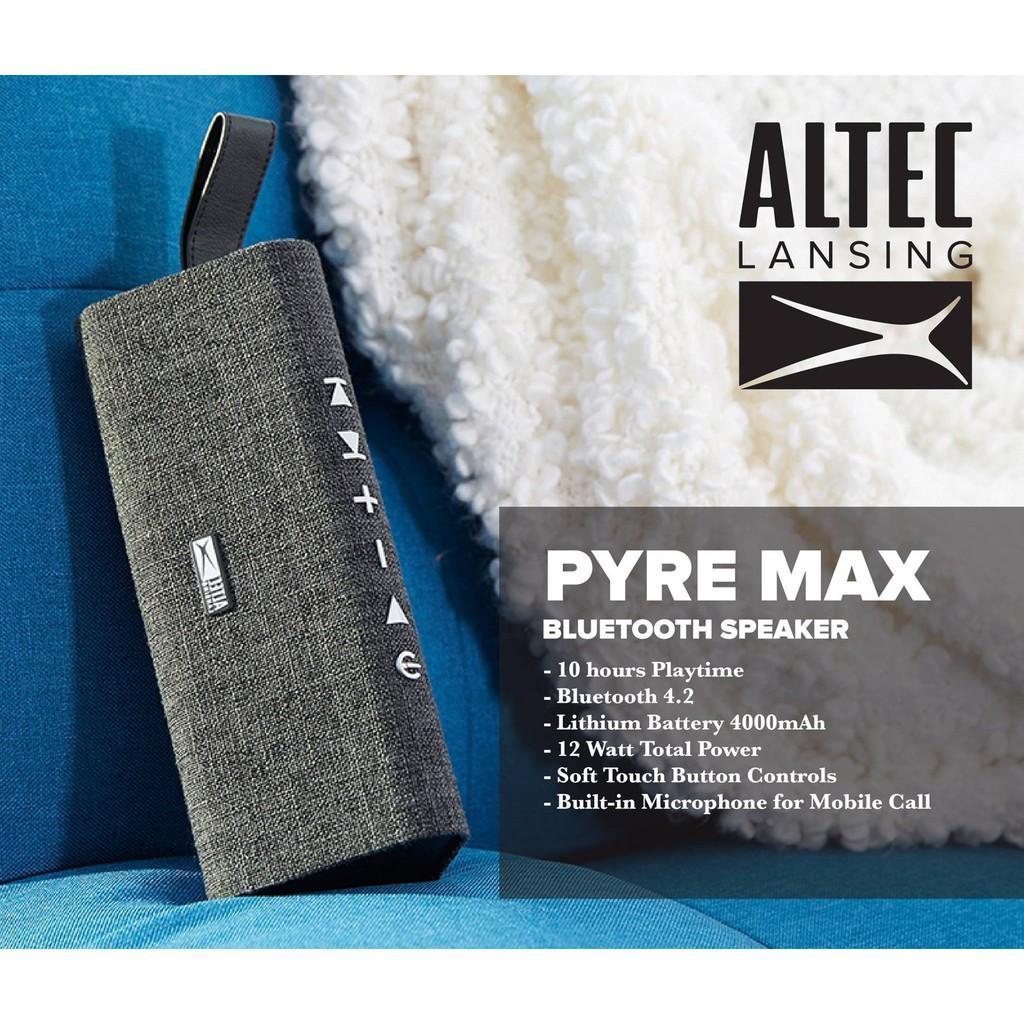 Altec Lansing Pyre Max Portable Bluetooth Speaker