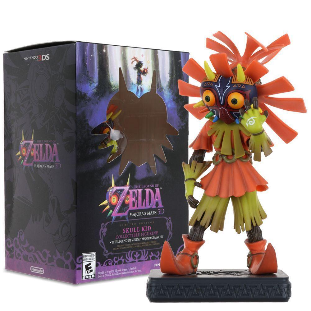 Meizu La Mask The Legend Of Zelda Majora's Mask Skull Kid PVC Figure Toy In  Box