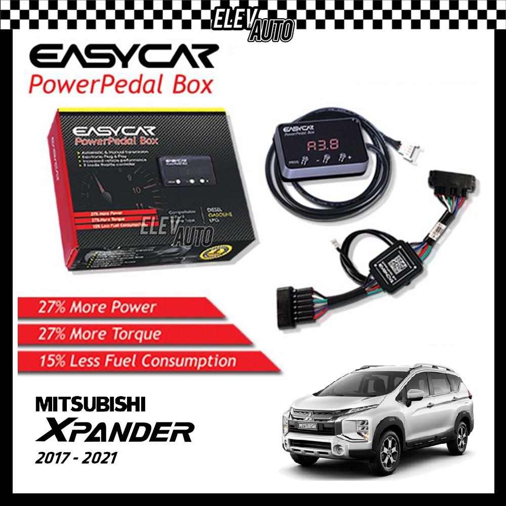 EASYCAR Power Pedal Box Accelerator Pedal Car Electronic Throttle Response Controller Mitsubishi Xpander 2017-2021