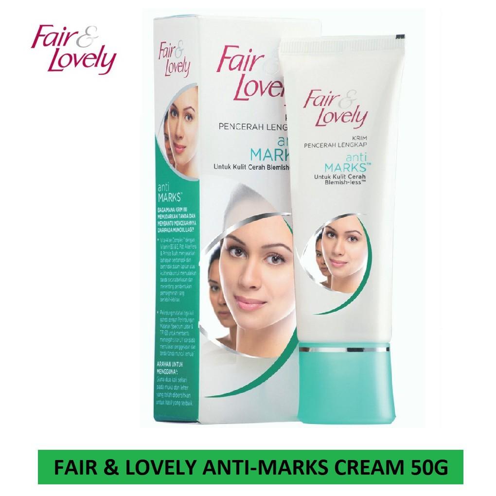 Fair and lovely anti Mark's cream 50gram Ready Stock