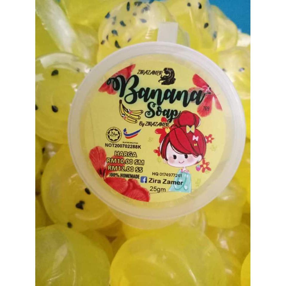 SABUN PISANG \ BANANA SOAP 100% ORIGINAL HQ + FREEGIFT