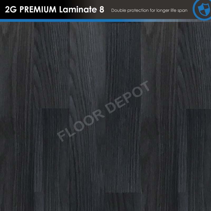 BLACK CHERRY - FLOOR DEPOT Premium Laminate Floorind 8mm - Whole Double Storey