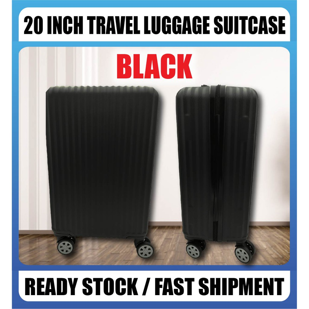 READY STOCK] Advanced 20-inch Travel Luggage Suitcase Silent Wheel 360 Rotation Smooth BLACK & WHITE No Ratings Yet