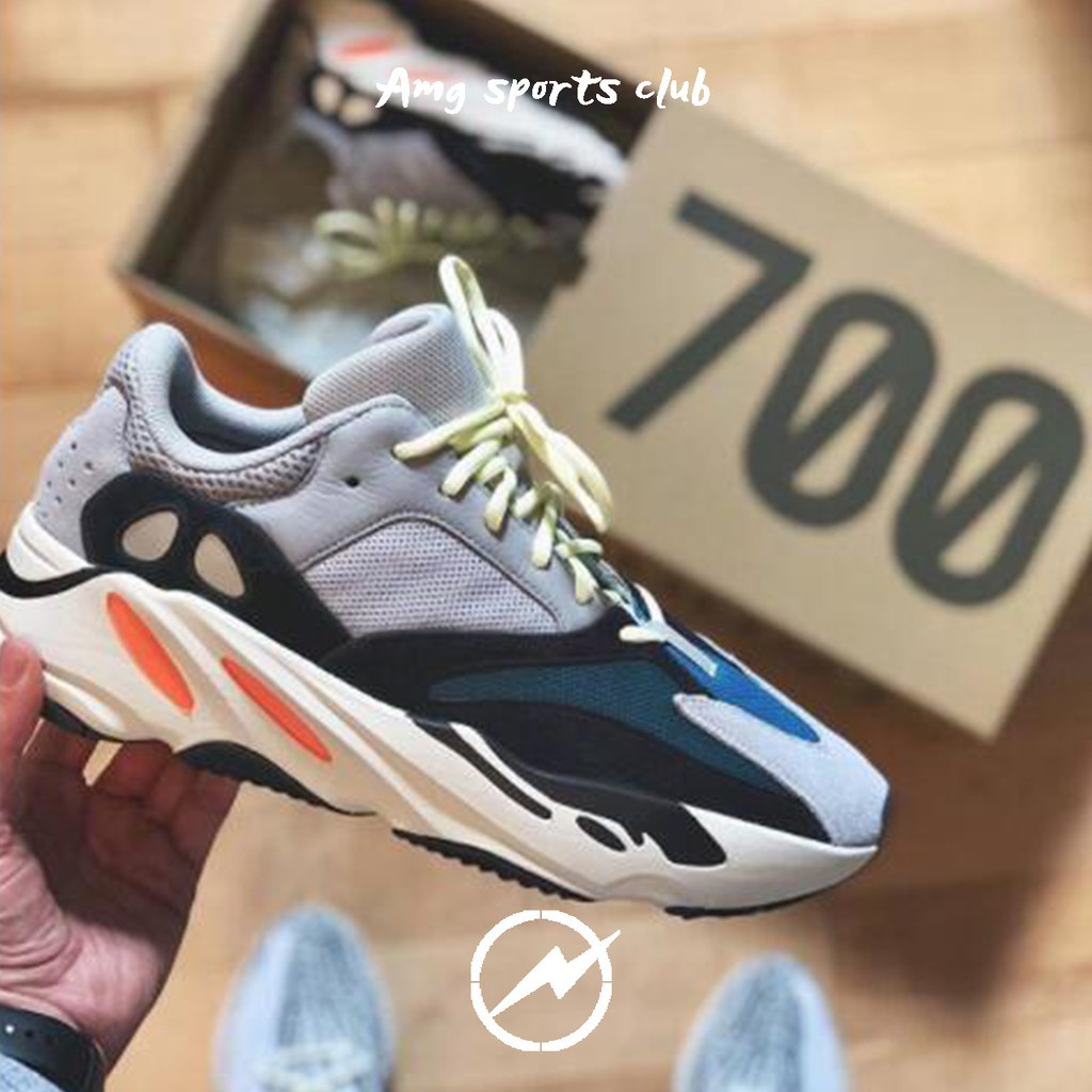 3a9dc18a85b Ready Stock Original real boost edition Adidas Yeezy Wave Runner 700 boots