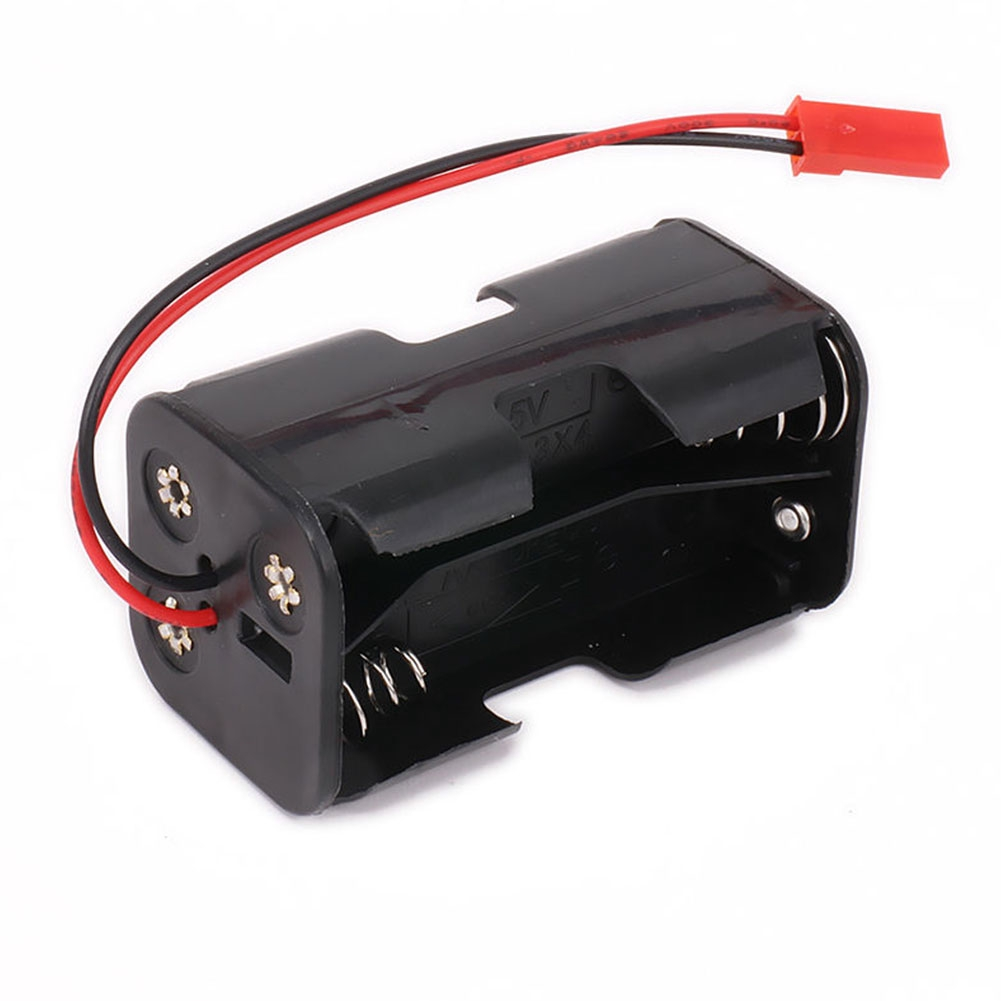 RC 4 x AA Battery Holder With Futaba Plug For Receiver Cars Planes Boats  Durable