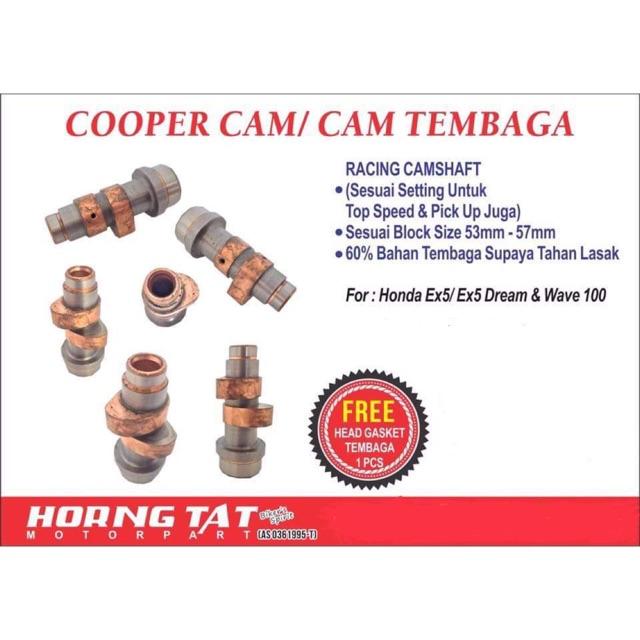 Cam Racing Tembaga Thailand For Honda EX5