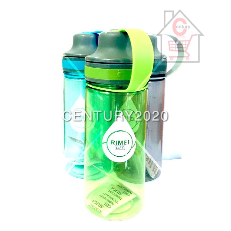 RIMEI Travel Bottle Sports Water Bottle Double Mouth Leak Proof Outdoor Bottle 500ml