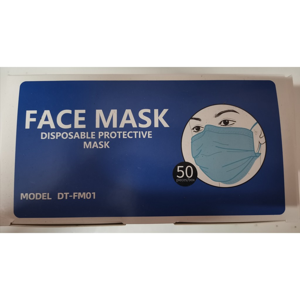 3 ply face mask quality products packing 50 pcs per box