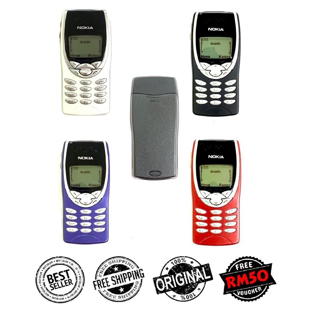 🇲🇾 Seller Original Nokia 8210 Black Red Blue Silver Full Set FREE RM50 Voucher [1 Month Warranty] Refurbished