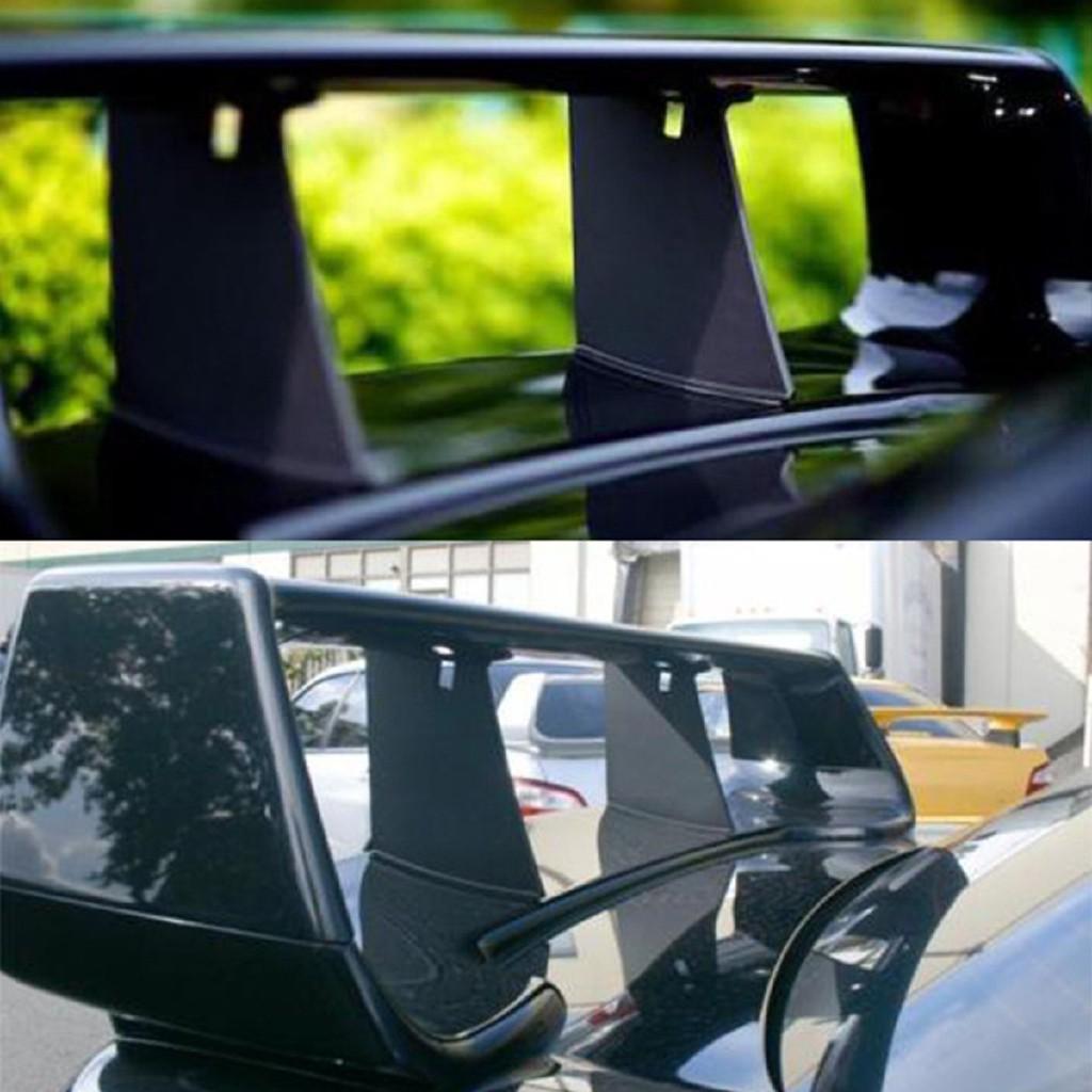 2x Trunk Spoiler Wing Stiffi Support Stabilizer For 02-07 Subaru Impreza WRX STi