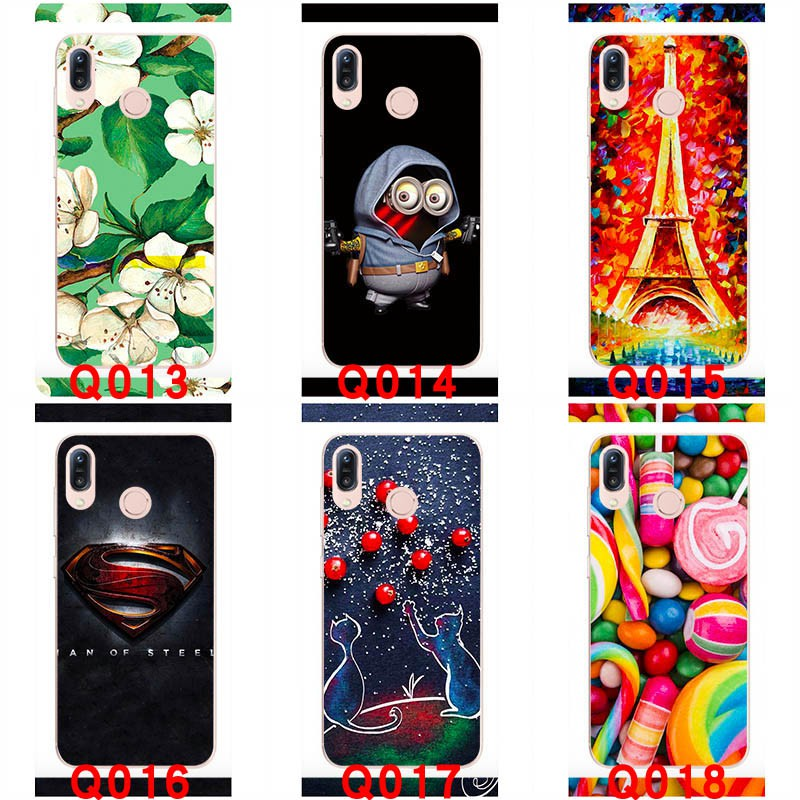 Hard plastic cases For Asus Zenfone Max Pro M1 ZB601KL Hard Handphone cases  Painted Back Cover