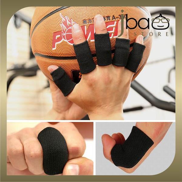 Aolikes Fingers Sleeves Protector Sport Gym Basketball Fingerstall (10PCS)