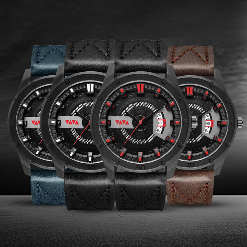Men's Sports Belt Fashion Quartz Watch