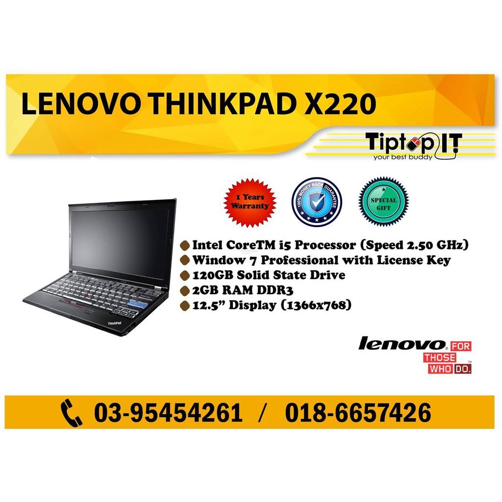 Lenovo X220 Ram