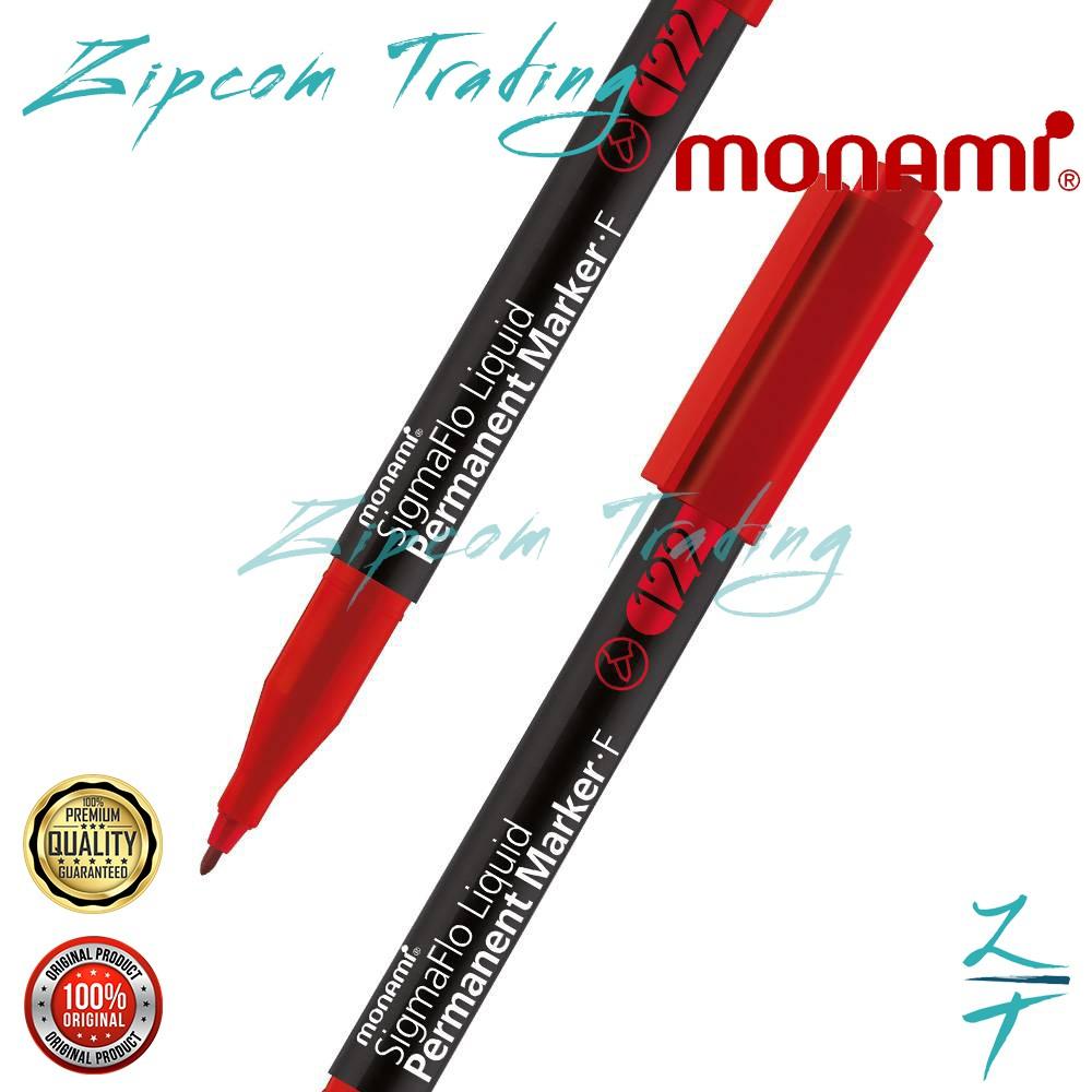 MONAMI SigmaFlo Permanent Marker 122 (Fine Nib)