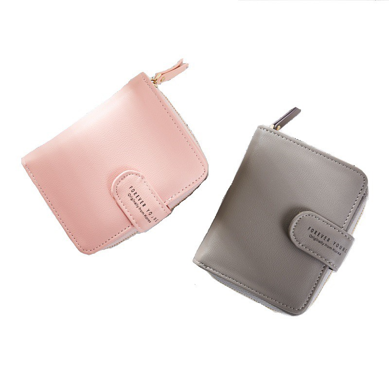 New Korean Kpop Style Women Wallets Bts Short Zipper Card Wallet Girl Wallets Purses Bangtan Boys Tassel Mini Print Bags Men's Bags
