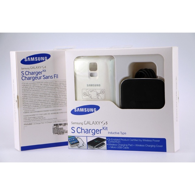 factory authentic c62c4 71401 SAMSUNG GALAXY S5 WIRELESS S CHARGER KIT