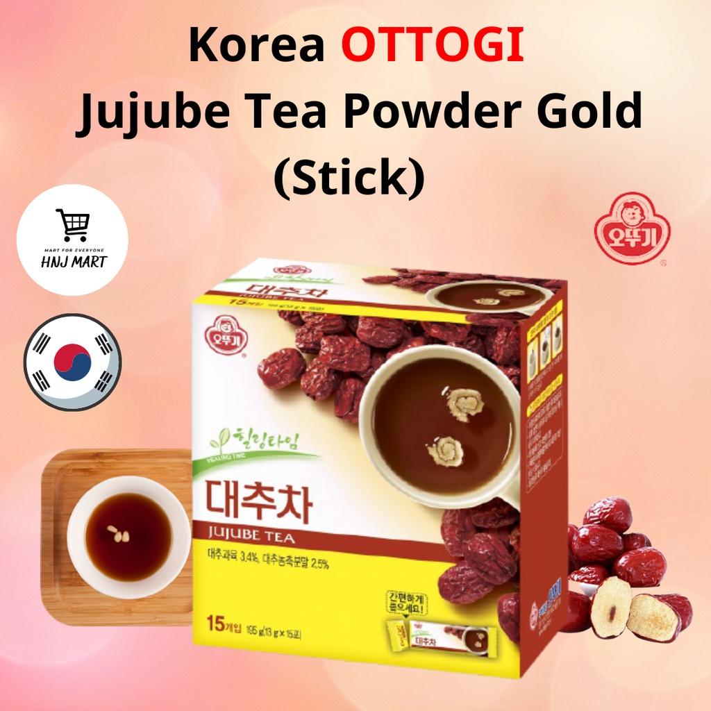Korea Ottogi Jujube Tea Powder Gold 12g x 15s 韩国不倒翁红枣茶粉 대추차