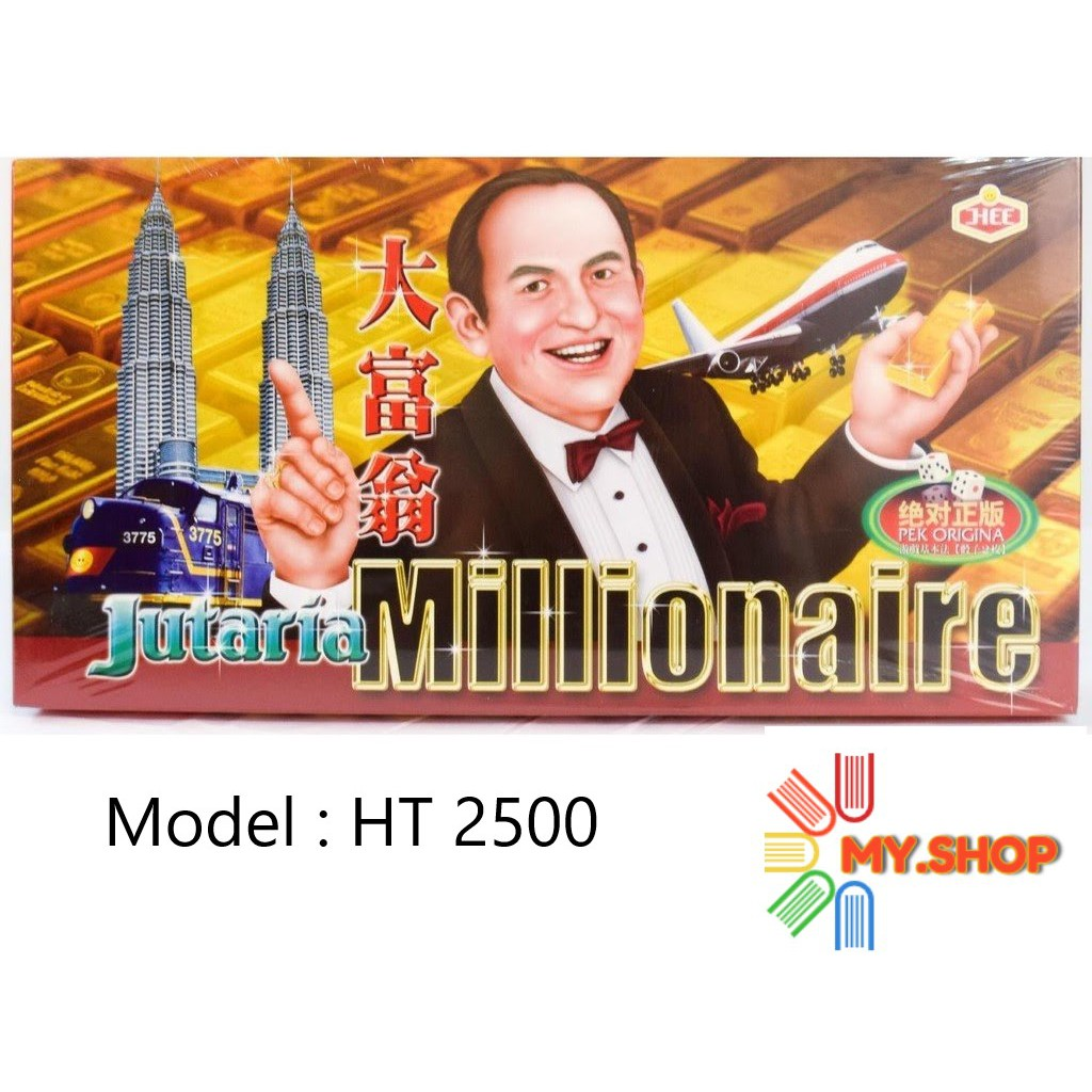 The Millionaire Jutaria Super Draughts Game- HT2500