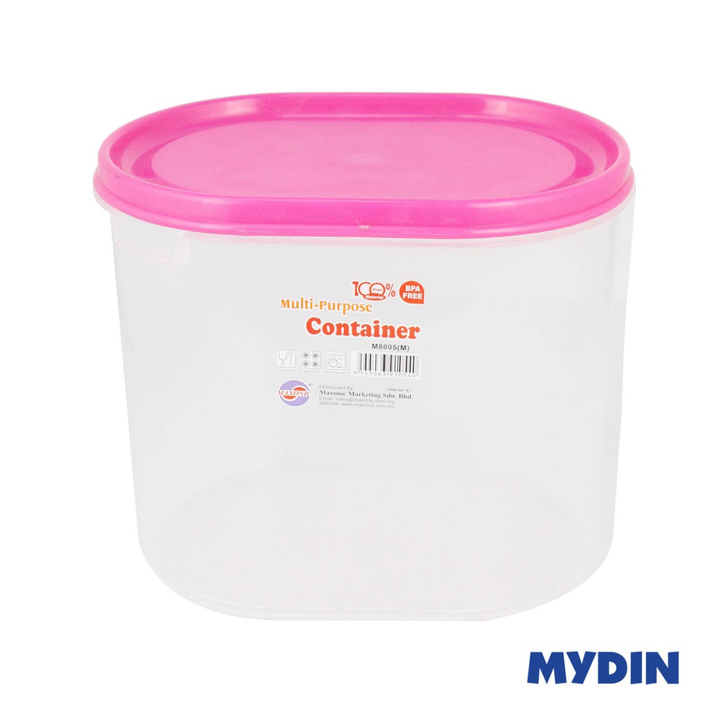 Maxonic Oval Container M 8005 (M)-p50 (3.6 L)