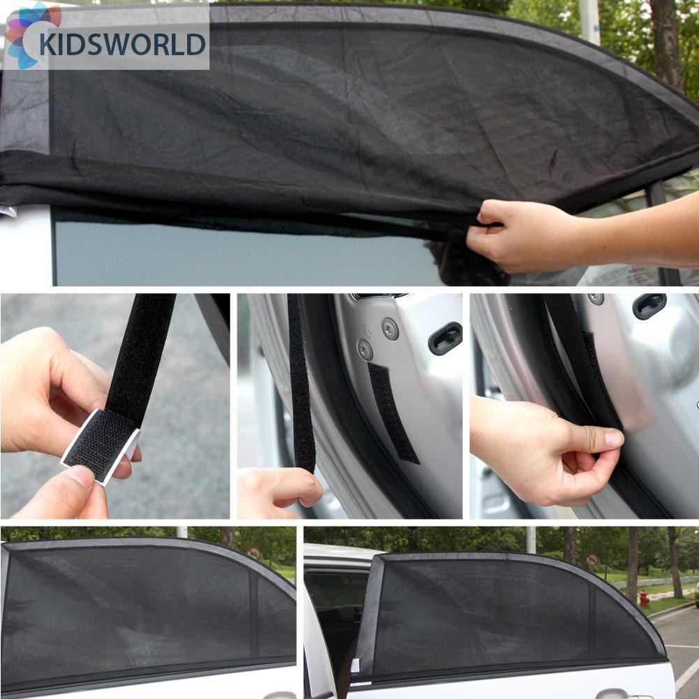 WinnerEco Front Rear Windshield Car Window Sun Shade Visor Shield Cover