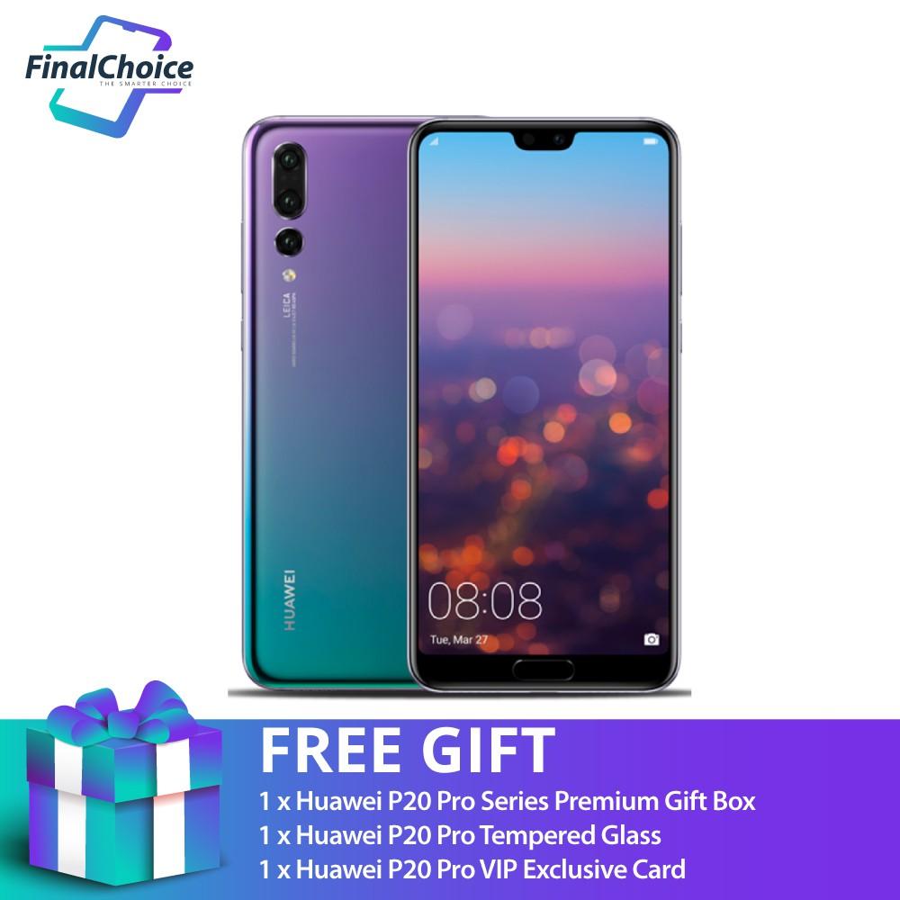 Free Gift Huawei P20 Pro Twilight 6gb 128gb Original Malaysia Warranty Shopee Malaysia
