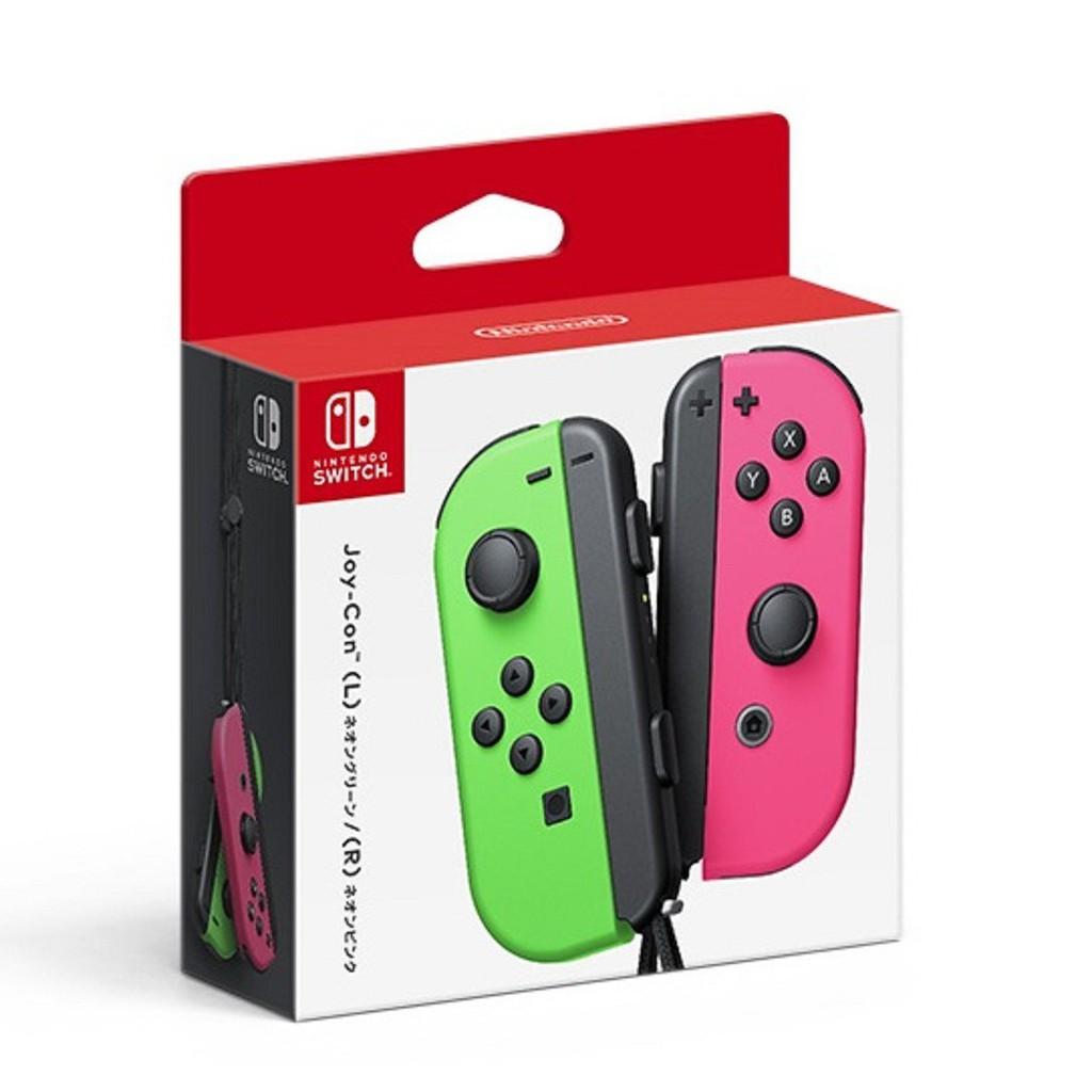 Nintendo Switch Neon Green/Neon Pink Joy-Con (L/R)