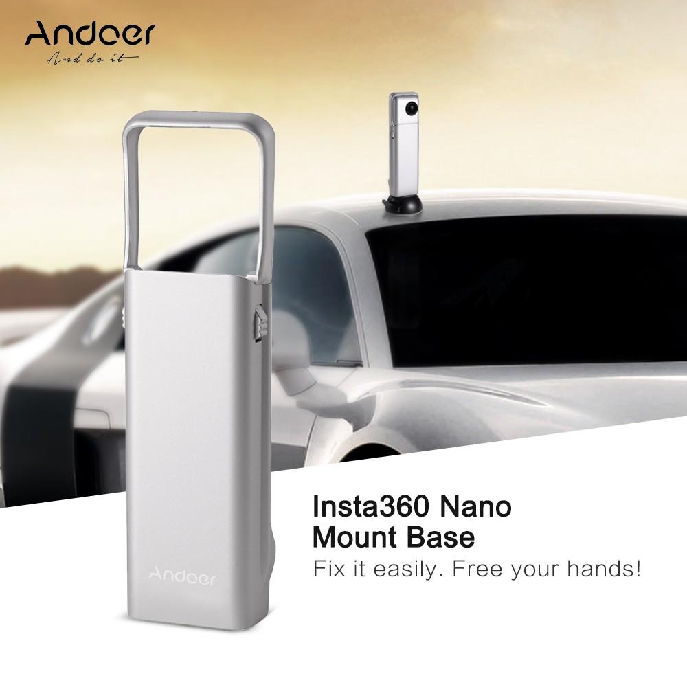 Andoer Insta360 Nano VR Video Camera Frame Bracket Holder Mount Base Accessories