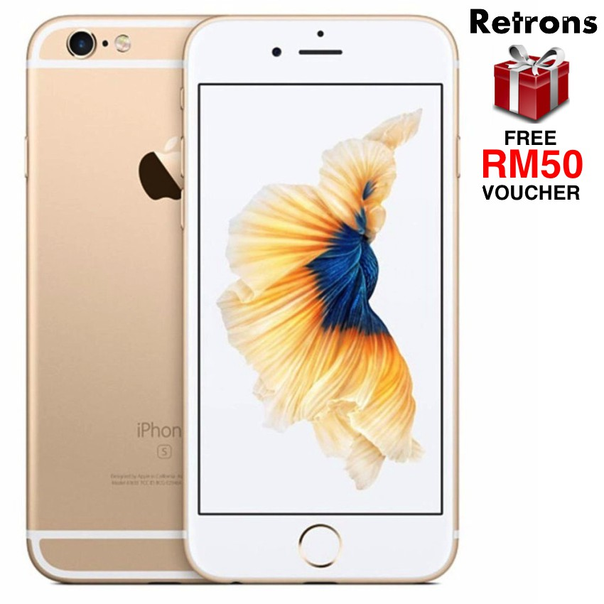 (DISPLAY UNIT) Apple iPhone 6S 64GB 128GB (CLEARANCE with ONE WEEK WARRANTY)
