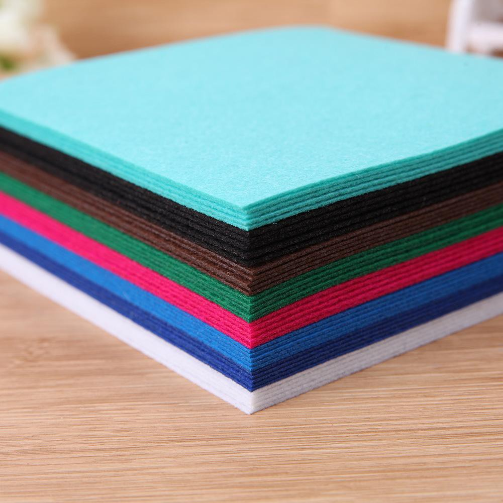Dolls Gifts Crafts Sewing DIY Polyester Cloth Felts Non Woven Fabric