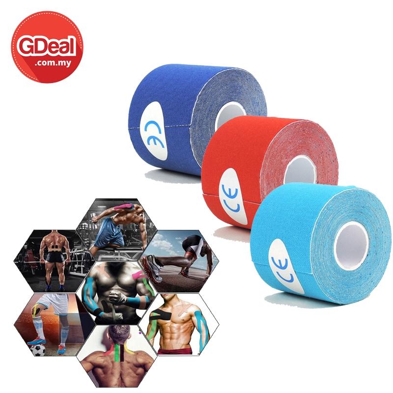 GDeal Muscle Intramuscular Sticker Athlete Muscle Pain Tape Sport Protection Physio Pita Otot Kinesio ڤيت اوتوت كينيسيو