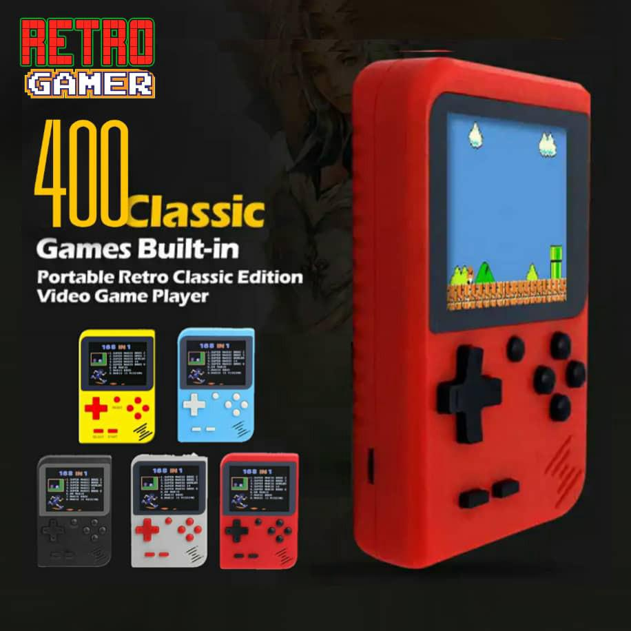 💖Big Offer Retro FC 400 in 1 Classic Game Console Gameboy video game