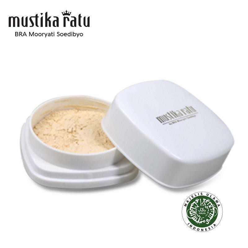 Mustika Ratu Bengkoang Whitening Series Bedak Serbuk (Loose Powder) 20gr